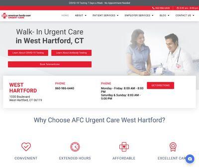 STD Testing at AFC Urgent Care West Hartford