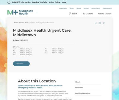 STD Testing at Middlesex Hospital Urgent Care - Middletown