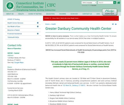 STD Testing at Connecticut Institute for Communities Incorporated -Greater Danbury