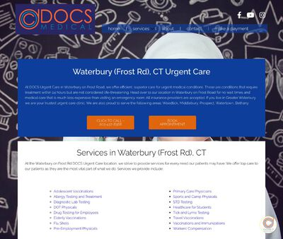 STD Testing at DOCS Urgent Care - Waterbury