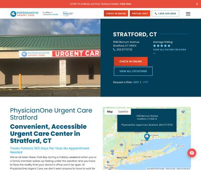 STD Testing at PhysicianOne Urgent Care, an Affiliate of Yale New Haven Health