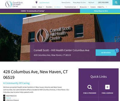 STD Testing at Cornell Scott Hill Health Center (Columbas Avenue Clinic)