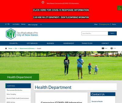 STD Testing at New Haven Health Department (Health Programs Division)