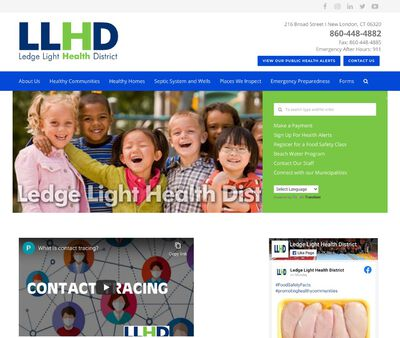 STD Testing at Ledge Light Health District