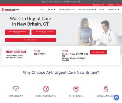 STD Testing at AFC Urgent Care New Britain