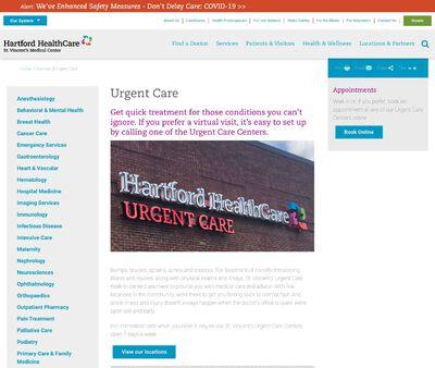 STD Testing at St.vincent's Medical Center Urgent Care