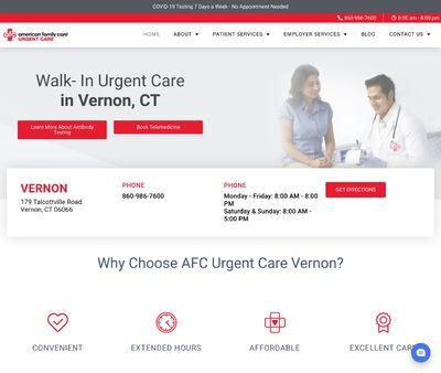 STD Testing at AFC Urgent Care Vernon