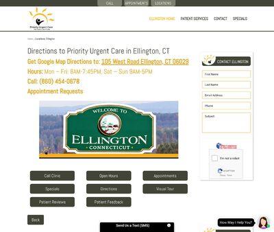STD Testing at Priority Urgent Care Ellington, CT