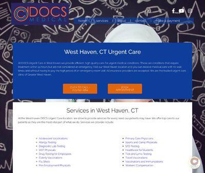 STD Testing at DOCS Urgent Care - West Have