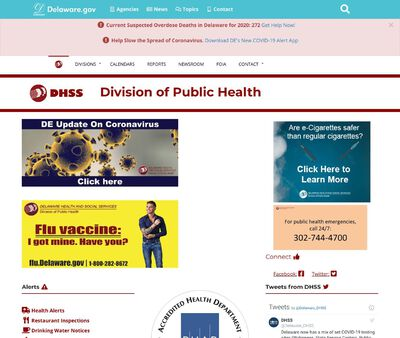 STD Testing at Delaware Health and Social Services (Division of Public Health)