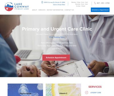 STD Testing at Lake Conway Primary and Urgent care