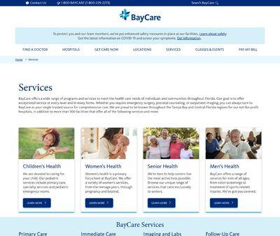 STD Testing at BayCare Urgent Care (Tyrone)