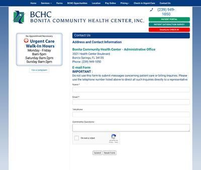 STD Testing at Bonita Health Center