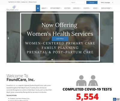 STD Testing at FoundCare Incorporated, West Palm Beach/Palm Springs Office