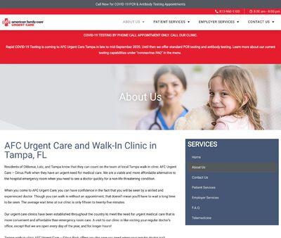 STD Testing at AFC Urgent Care - Tampa