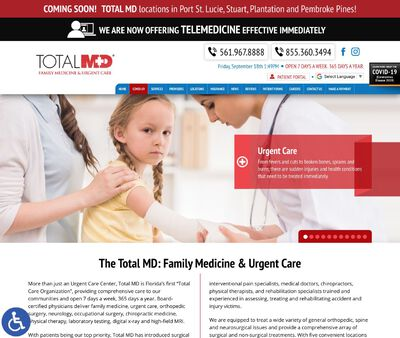 STD Testing at Total MD, Fort Lauderdale