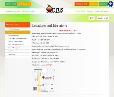 STD Testing at Citrus Health Network