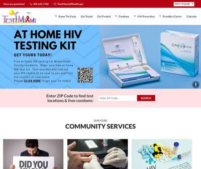 STD Testing at Florida Health Miami Dade County-Test Miami testing center