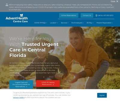 STD Testing at AdventHealth Centra Care DeLand