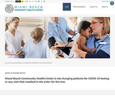 STD Testing at Miami Beach Community Health Center North