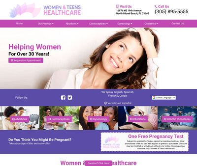 STD Testing at Women and Teen's Health Clinic