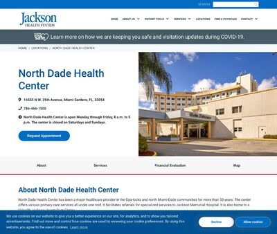 STD Testing at Jackson Health System (North Dade Health Center)