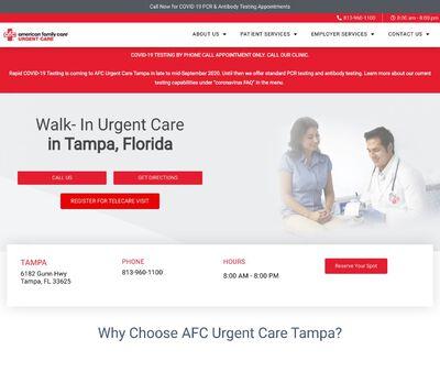 STD Testing at AFC Urgent Care Tampa
