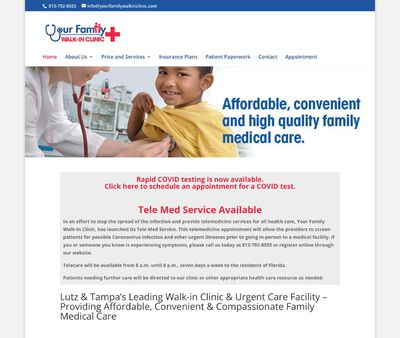 STD Testing at Urgent Care Clinic