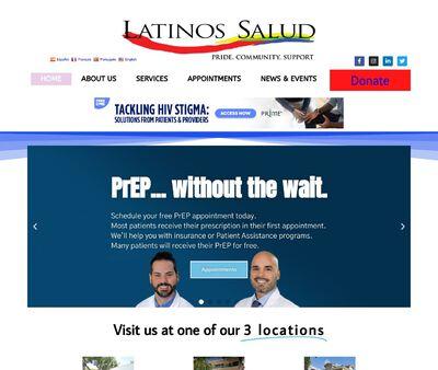 STD Testing at Latinos Salud – Wilton Manos