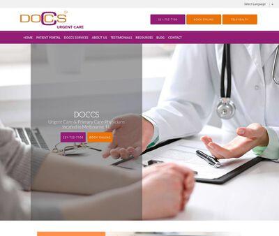STD Testing at DOCCS Urgent & Primary Health Care
