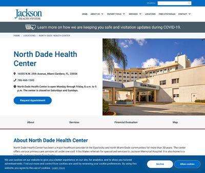 STD Testing at Jackson Health System (North Dade Health Center)