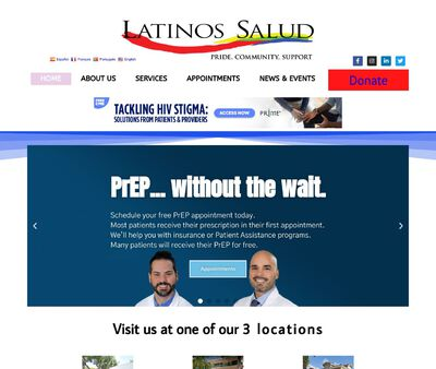 STD Testing at Latinos Salud - Wilton Manors