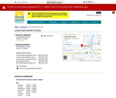 STD Testing at Little Haiti Health Center