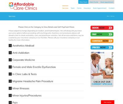 STD Testing at Affordable Care Clinics