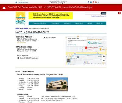 STD Testing at Public Health Unit