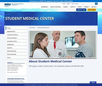 STD Testing at Nova Southeastern University (Sanford L Ziff Health Center)