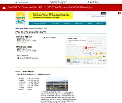 STD Testing at Paul Hughes Health Center