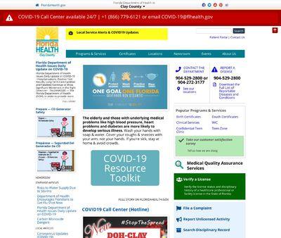 STD Testing at Clay County Health Department - Bear Run Clinic