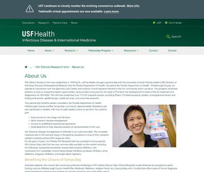 STD Testing at USF HealthYbor Youth Clinic