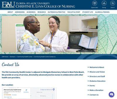 STD Testing at FAU Community Health Center