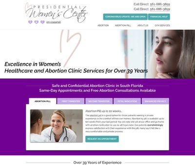 STD Testing at Presidential Women's Center