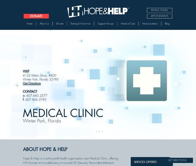 STD Testing at Hope and Help Centre for Central Florida, Inc