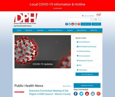 STD Testing at Georgia Department of Public Health (East Central Health District)