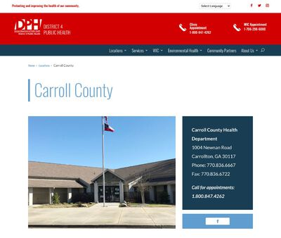 STD Testing at Carroll County Health Department