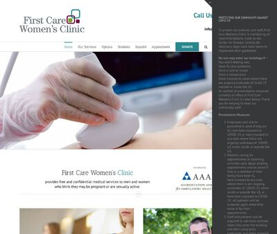 STD Testing at First Care Women's Clinic