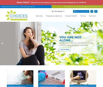 STD Testing at Choices Pregnancy Care Center