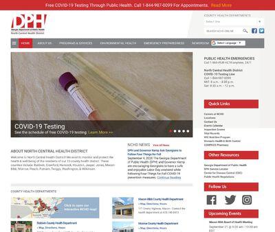 STD Testing at Georgia Department of Public Health (Monroe County Health Department)