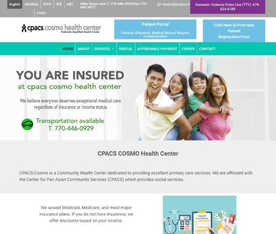 STD Testing at CPACS Cosmo health center