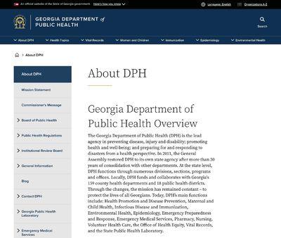STD Testing at Georgia Department of Public Health