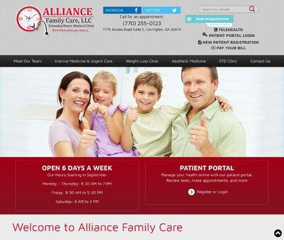 STD Testing at Alliance Family Care, LLC